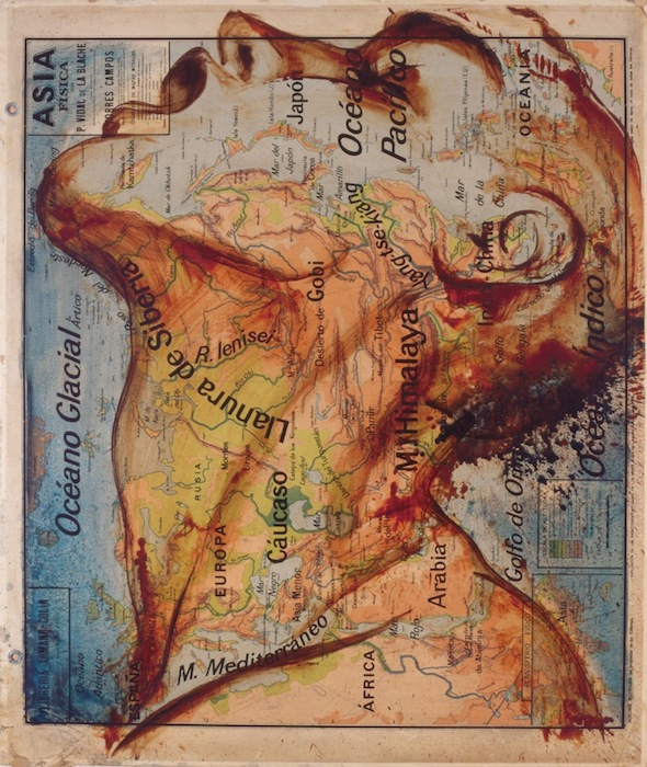 Fernando Vicente |Map Painting