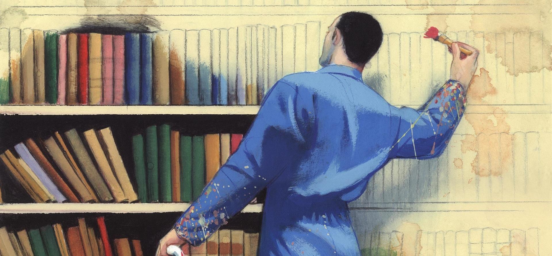 Ilustracion Fernando Vicente pintor e ilustrador