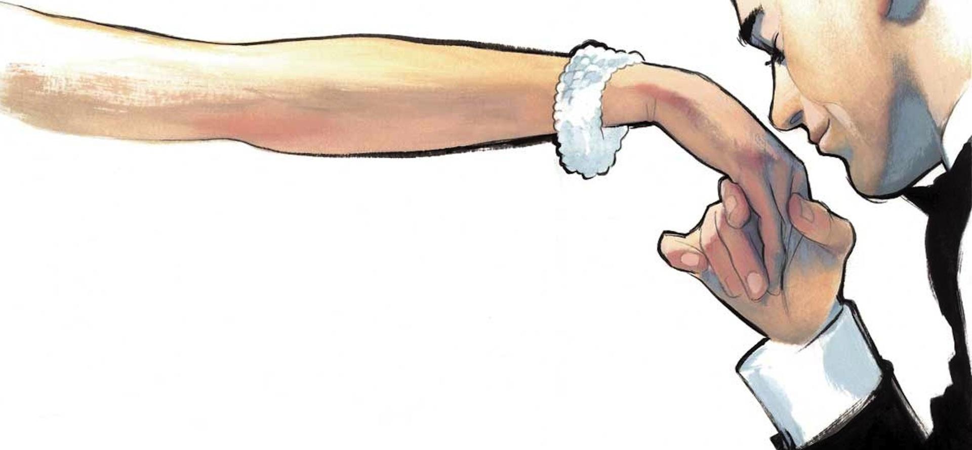 Ilustracion Moda Fernando Vicente pintor e ilustrador