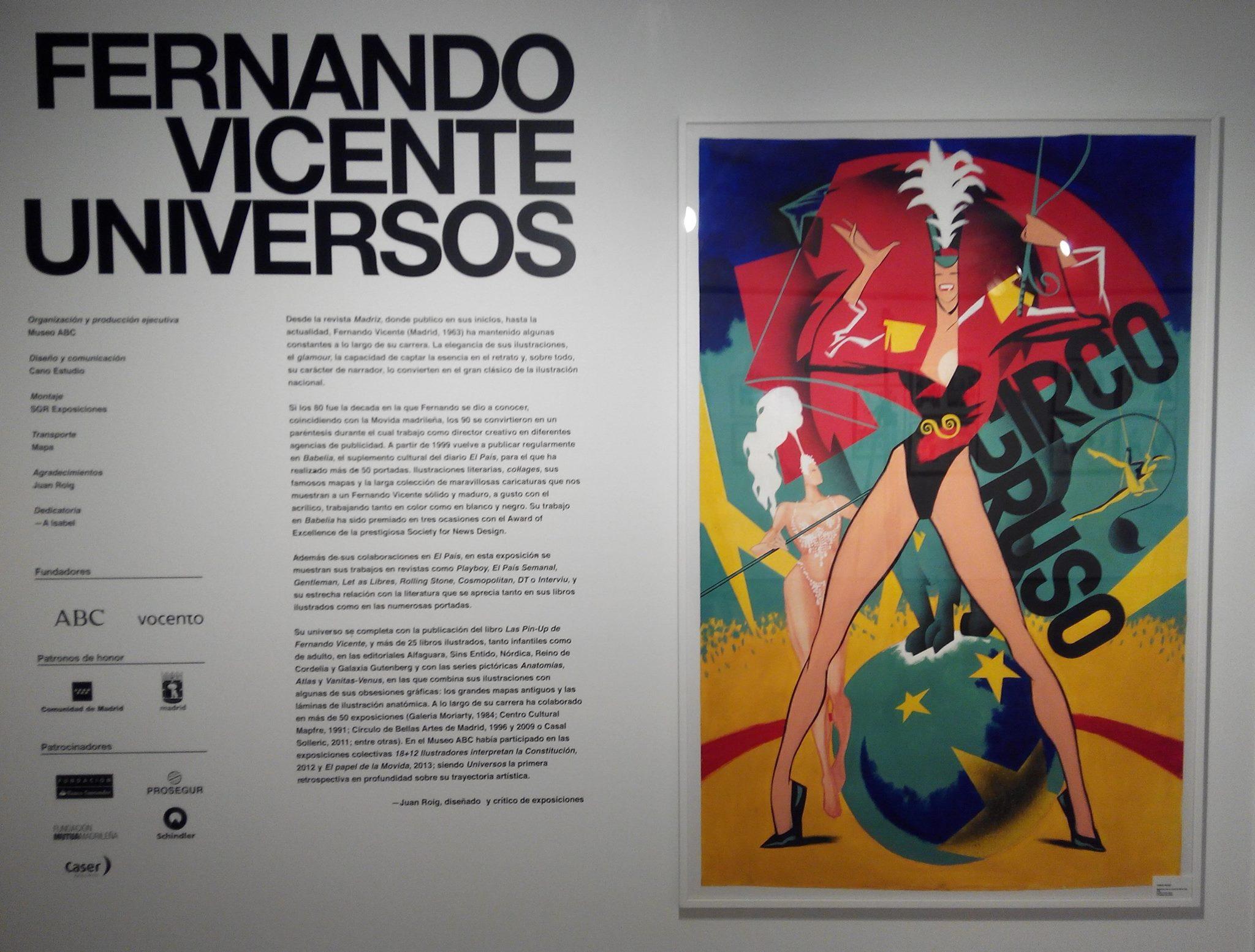 Exposición Universos Museo Abc de ilustración