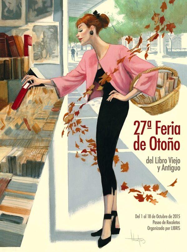 Cartel Feria otoño 2015 detalle Fernando Vicente