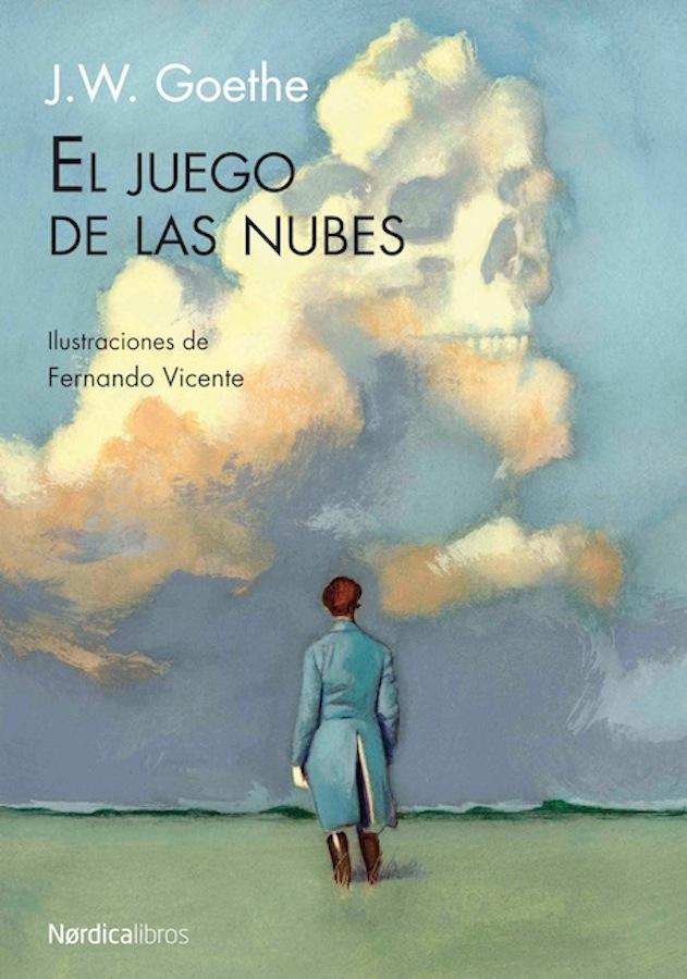 El juego de la nubes Goethe Portada Nordica Fernando Vicente