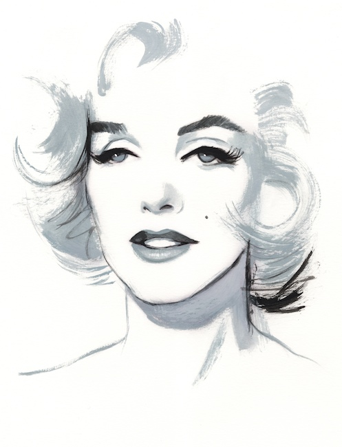 Prints Portraits Marilyn Monroe Fernando Vicente
