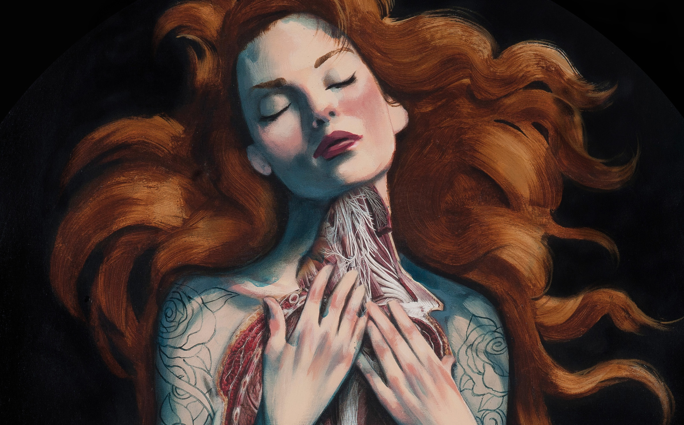 Serie Venus Fernando Vicente Botticelli