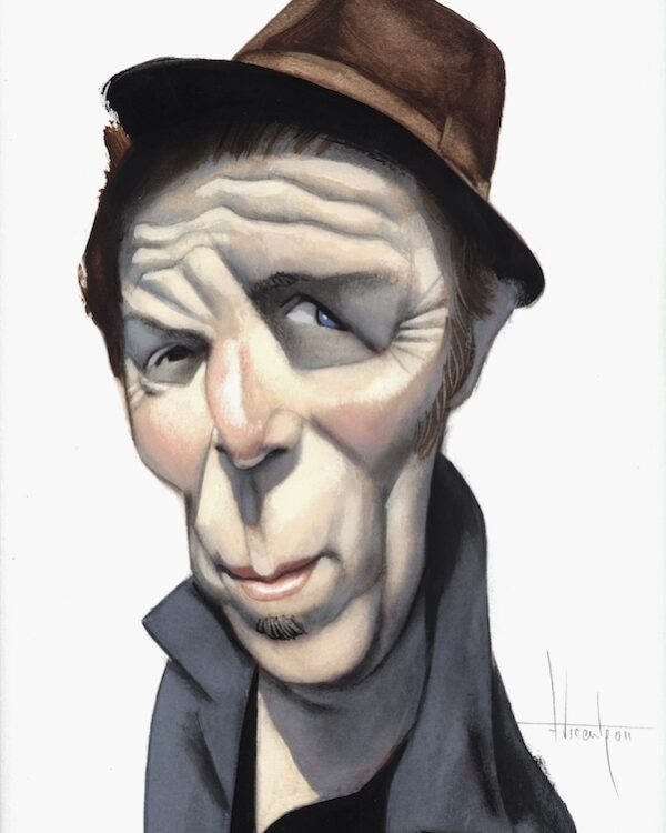 Tom Waits Caricatura Fernando Vicente
