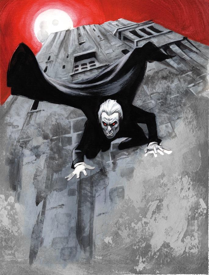 Dracula 9 Saliendo como un lagarto Bram Stoker Fernando Vicente