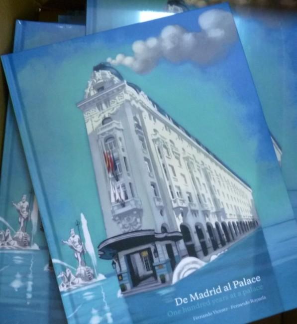 Hotel Westin Palace Madrid Libro - Book Fernando Vicente Tienda OnLine
