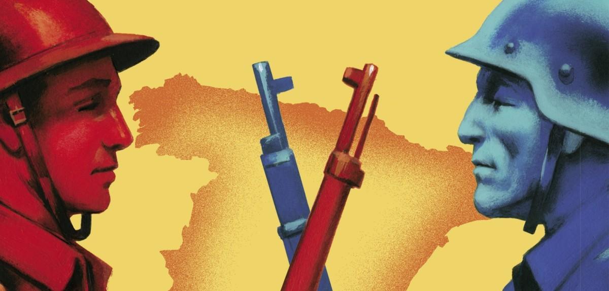 La guerra civil contada a los jóvenes - Arturo Pérez-Reverte ilustrado por Fernando Vicente