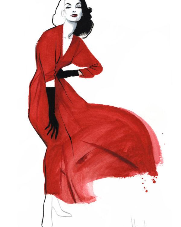 Moda prints Museo del traje Fernando Vicente