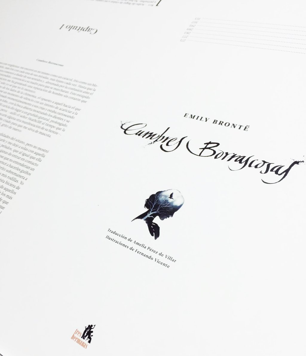 Cumbres Borrascosas Fernando Vicente en imprenta