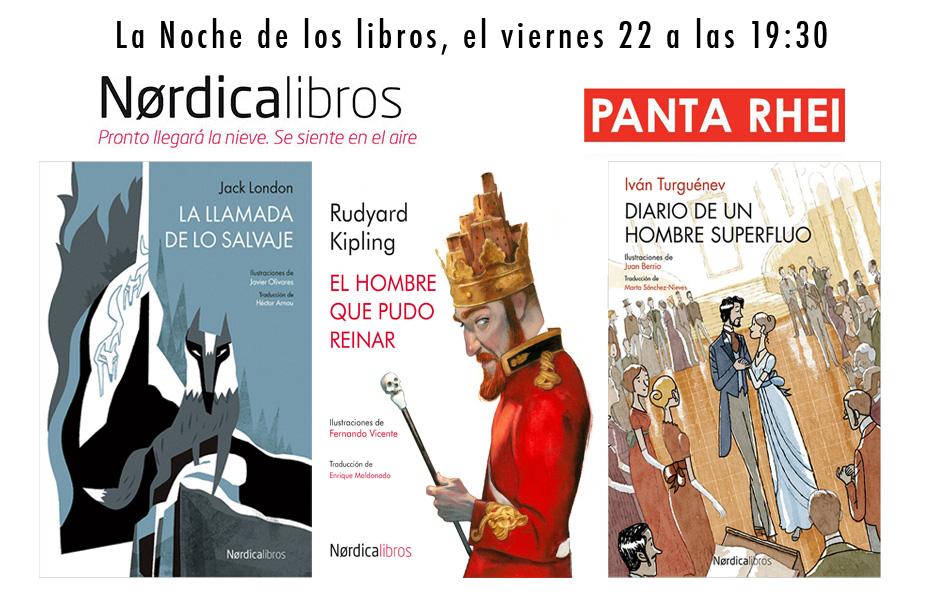La noche de los libros 22042016 en PantaRhei