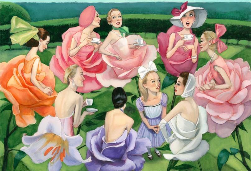 Alicia a través del espejo Lewis Carroll Fernando Vicente El jardin de las flores