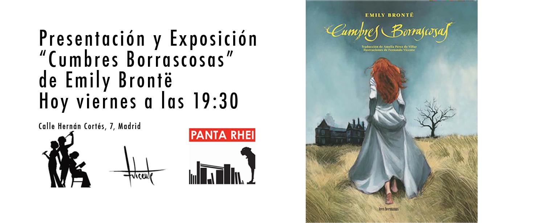Presentación Cumbres Borrascosas en PantaRhei 06052016