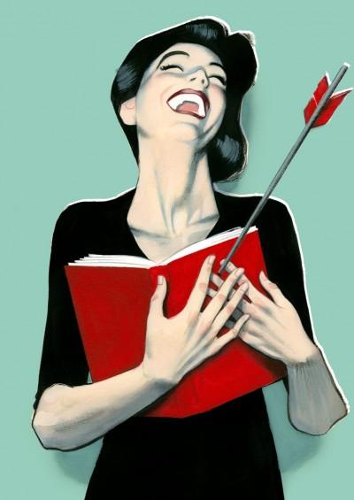 Flechazo Lector Cartel Feria del Libro Madrid 2015
