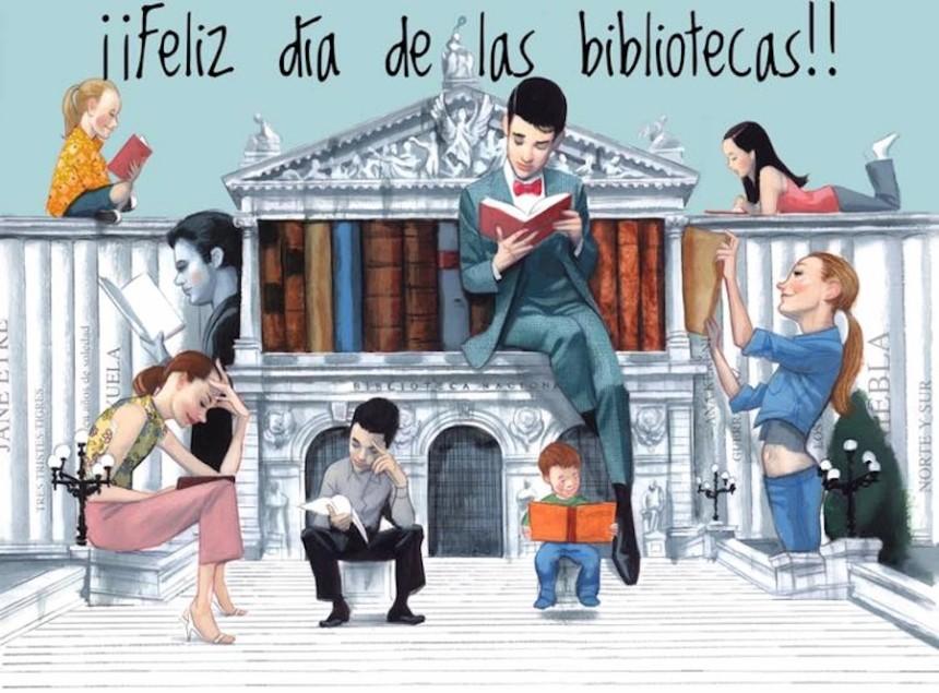 Feliz día de las Bibliotecas
