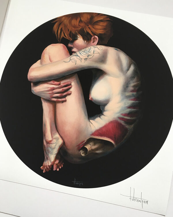 Ingravita Rosetatto print Fernando Vicente