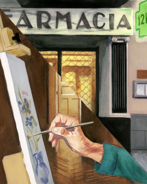 Debilucha Retablo Marta Sanz Fernando Vicente