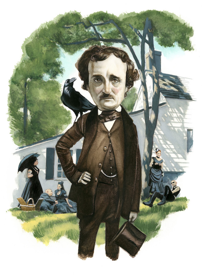 Edgar Allan Poe Espiritus de Nueva York editorial Lunwerg Alberto Gil Fernando Vicente
