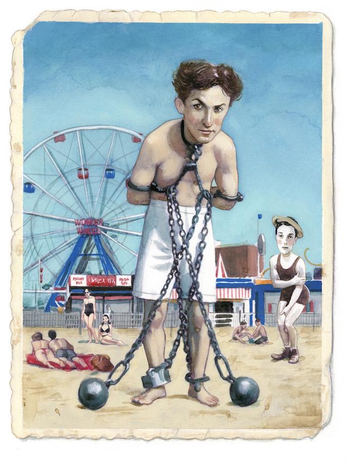 Harry Houdini Espiritus de Nueva York editorial Lunwerg Alberto Gil Fernando Vicente