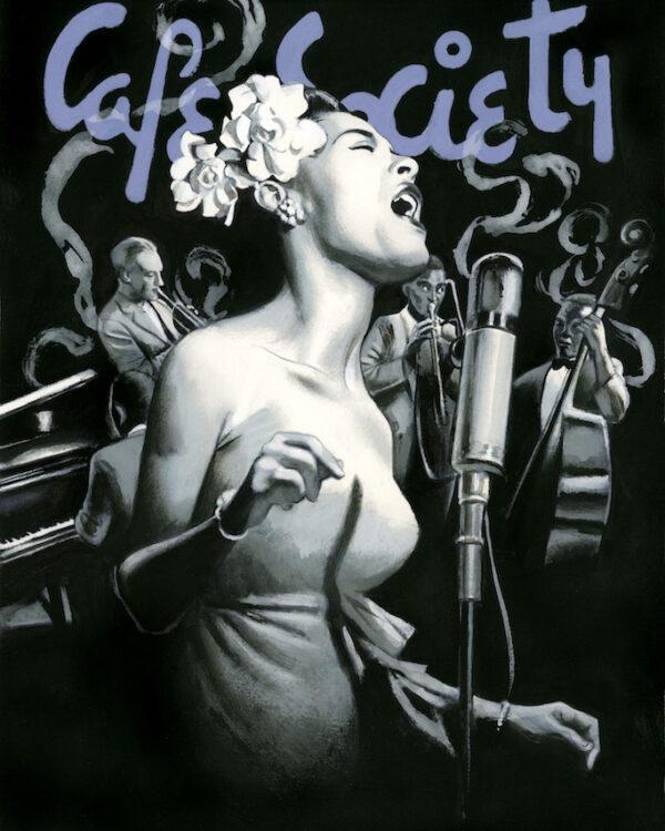 Billie Holiday Espiritus de Nueva York editorial Lunwerg Alberto Gil Fernando Vicente
