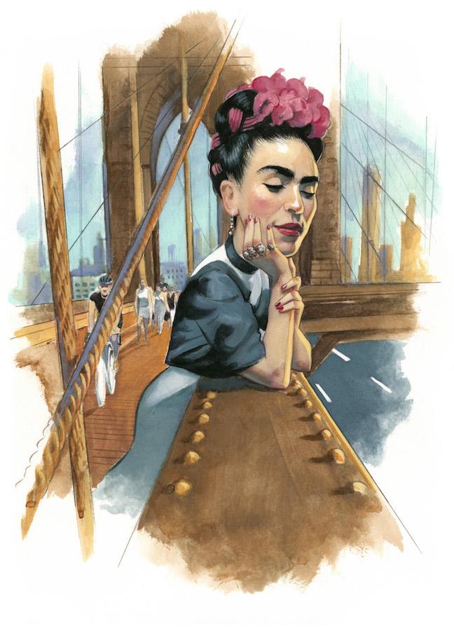 Frida Kahlo Espiritus de Nueva York editorial Lunwerg Alberto Gil Fernando Vicente