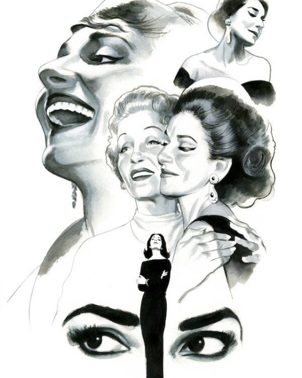 Maria Callas & Marlene Dietrich Espiritus de Nueva York editorial Lunwerg Alberto Gil Fernando Vicente