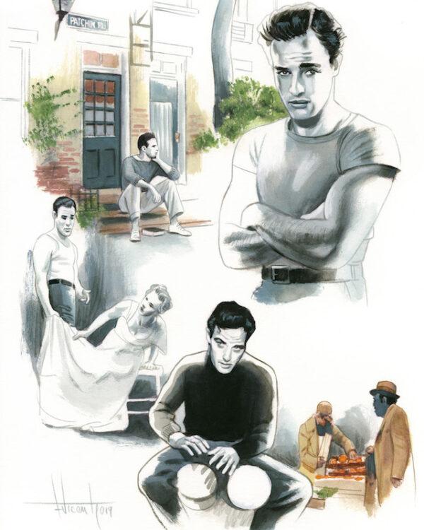 Marlon Brando Espiritus de Nueva York editorial Lunwerg Alberto Gil Fernando Vicente