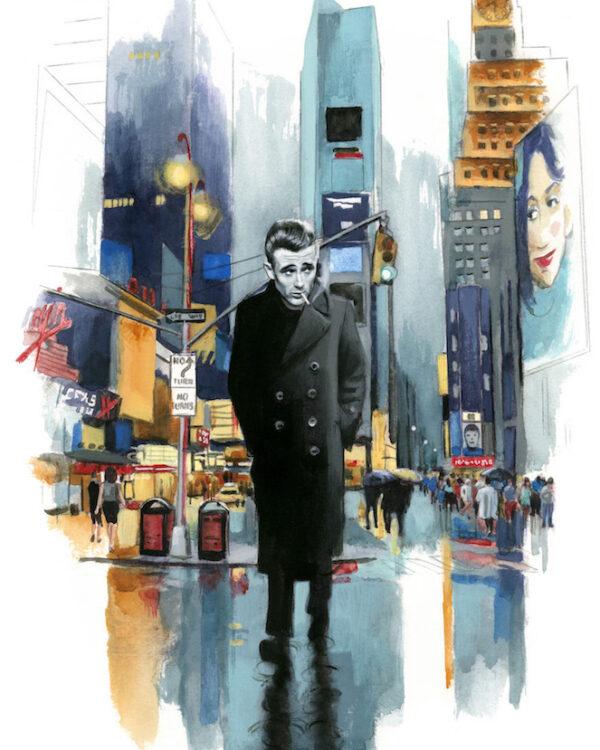 James Dean Espiritus de Nueva York editorial Lunwerg Alberto Gil Fernando Vicente