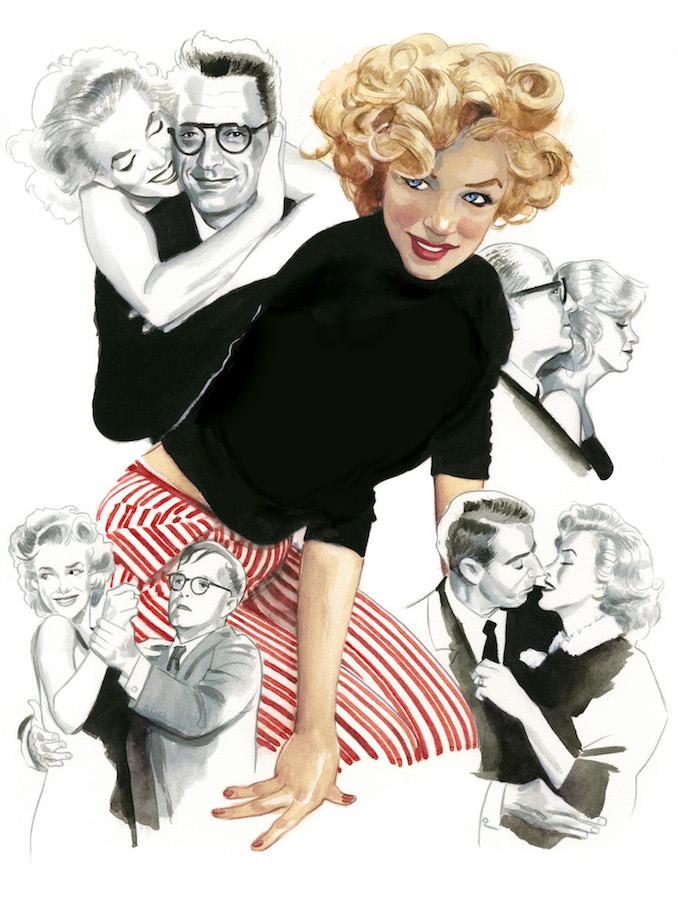 Marilyn Monroe Espiritus de Nueva York editorial Lunwerg Alberto Gil Fernando Vicente