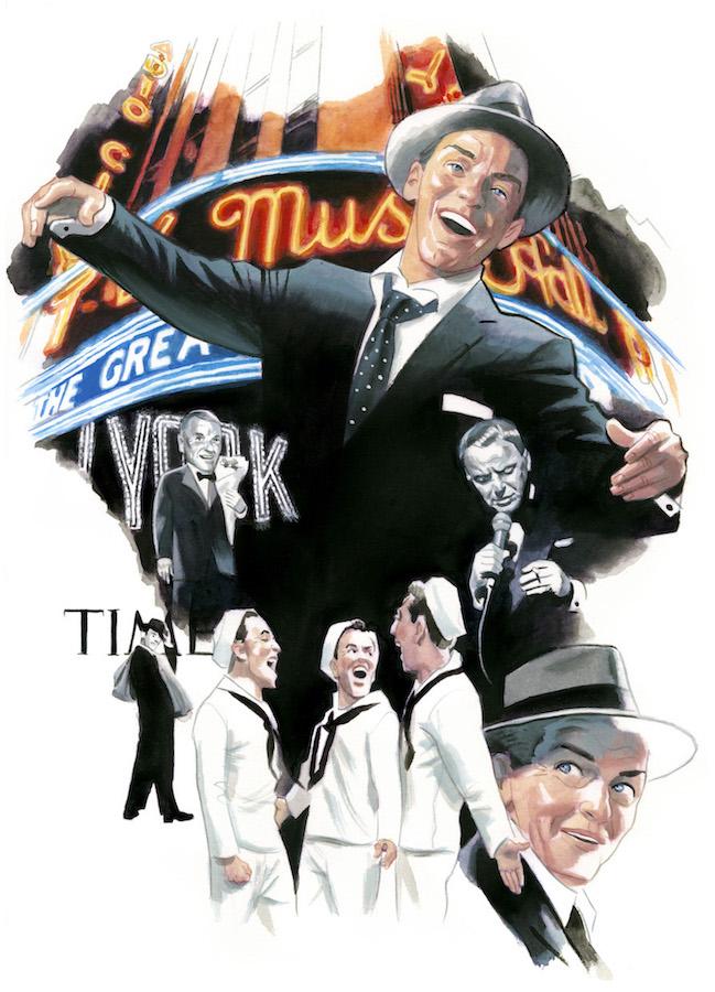 Frank Sinatra Espiritus de Nueva York editorial Lunwerg Alberto Gil Fernando Vicente