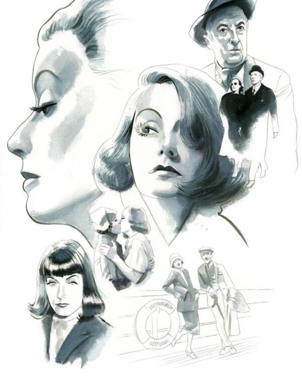 Greta Garbo Espiritus de Nueva York editorial Lunwerg Alberto Gil Fernando Vicente