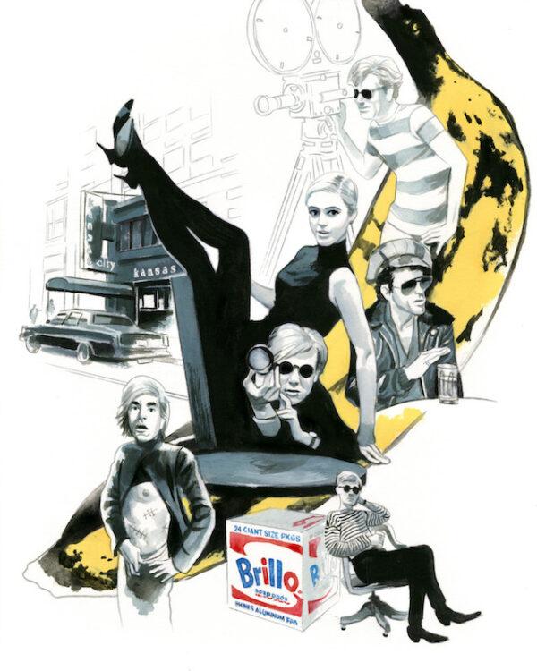 Andy Warhol Espiritus de Nueva York editorial Lunwerg Alberto Gil Fernando Vicente