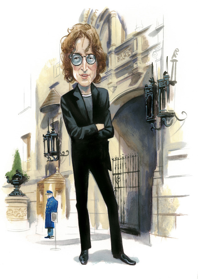 John Lennon Espiritus de Nueva York editorial Lunwerg Alberto Gil Fernando Vicente