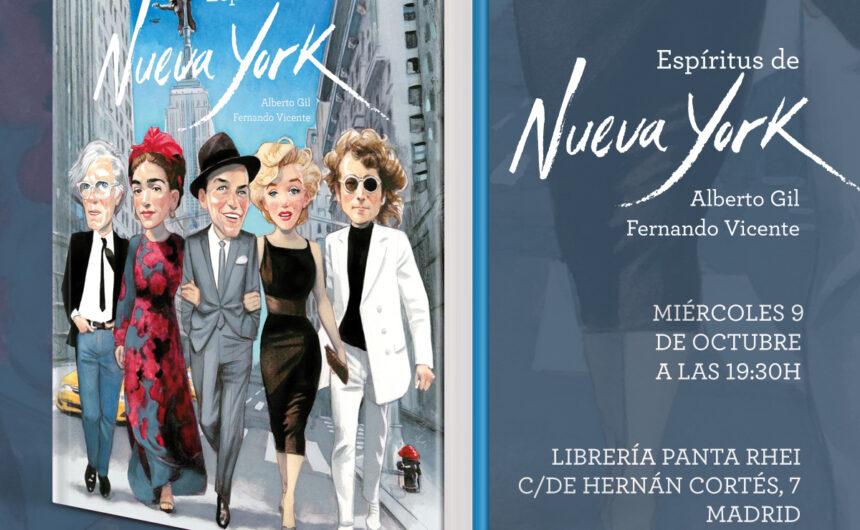 Presentacion Espiritus de Nueva York
