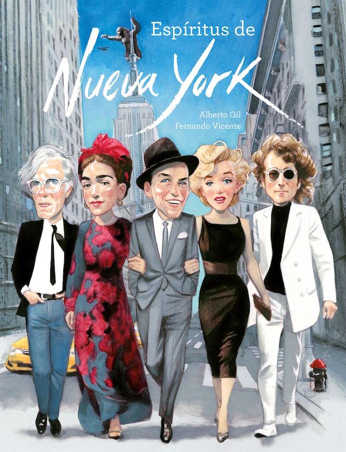 Portada Libro Espiritus de Nueva York New York Spirits Book