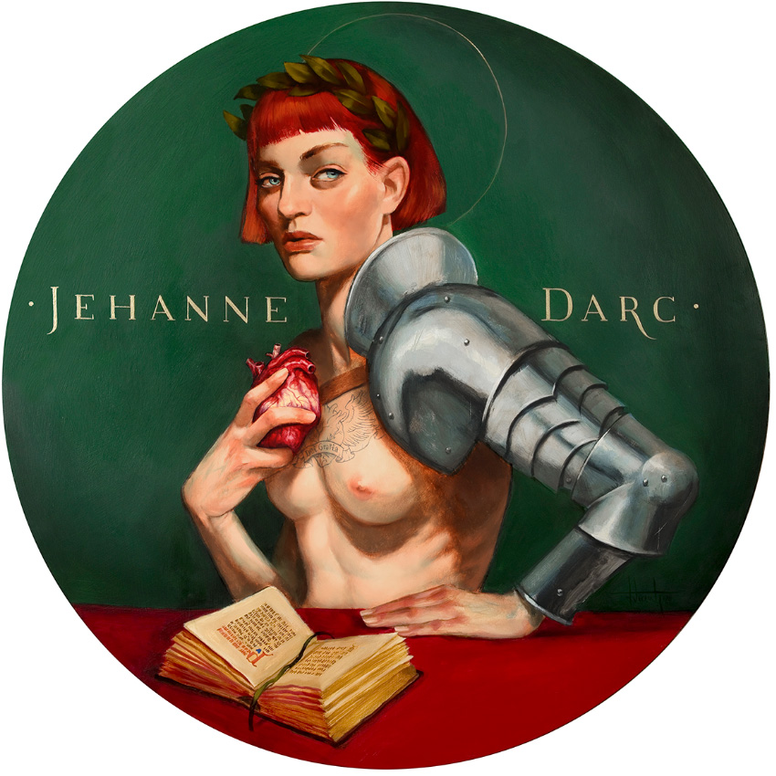 Jehanne D'arc Fenando Vicente Juana de arco