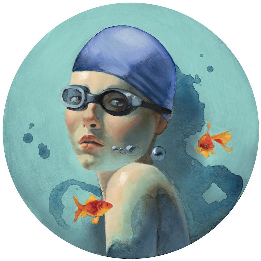 La joven del agua Fernando Vicente web