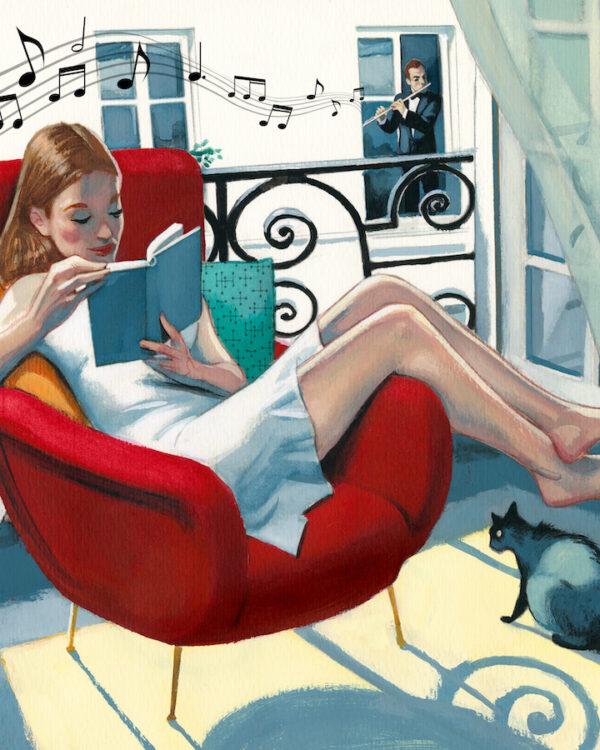 Lectura en casa FErnando Vicente