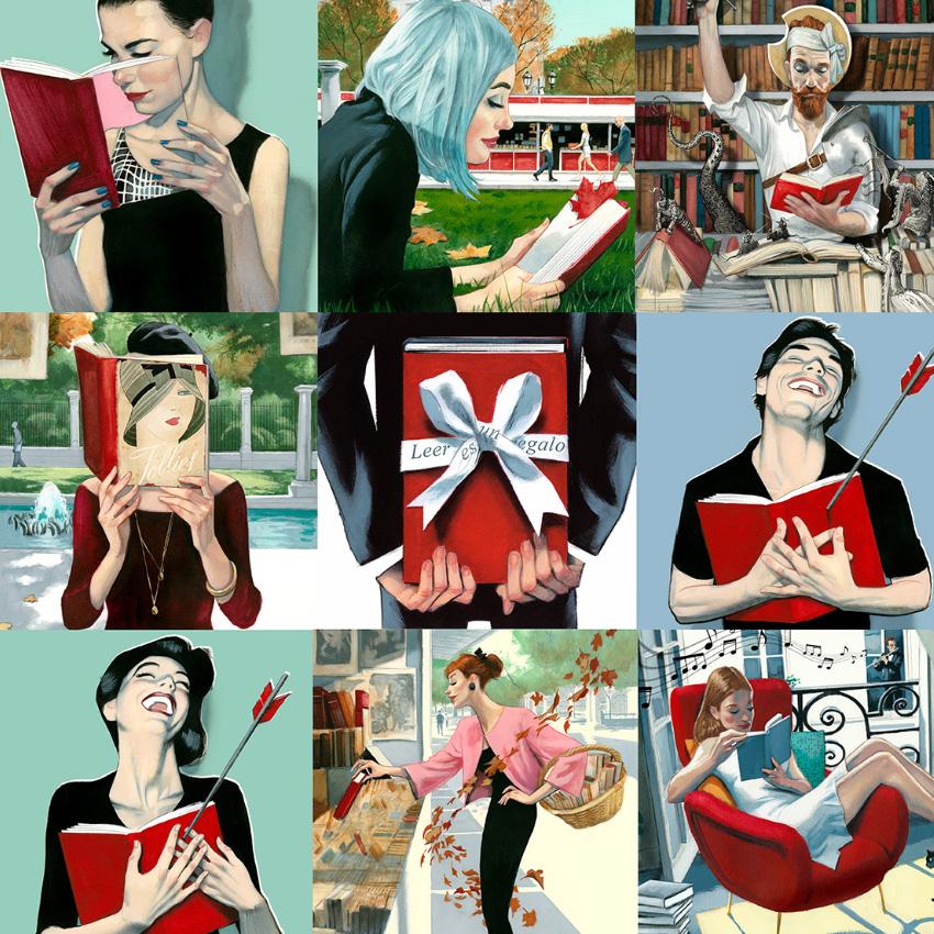 Puzzle Libros Fenando Vicente