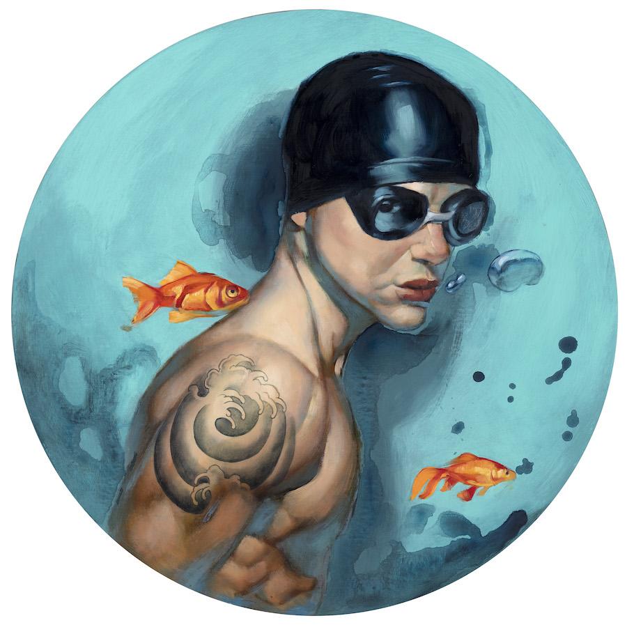 Nadador tattoo Fernando Vicente web