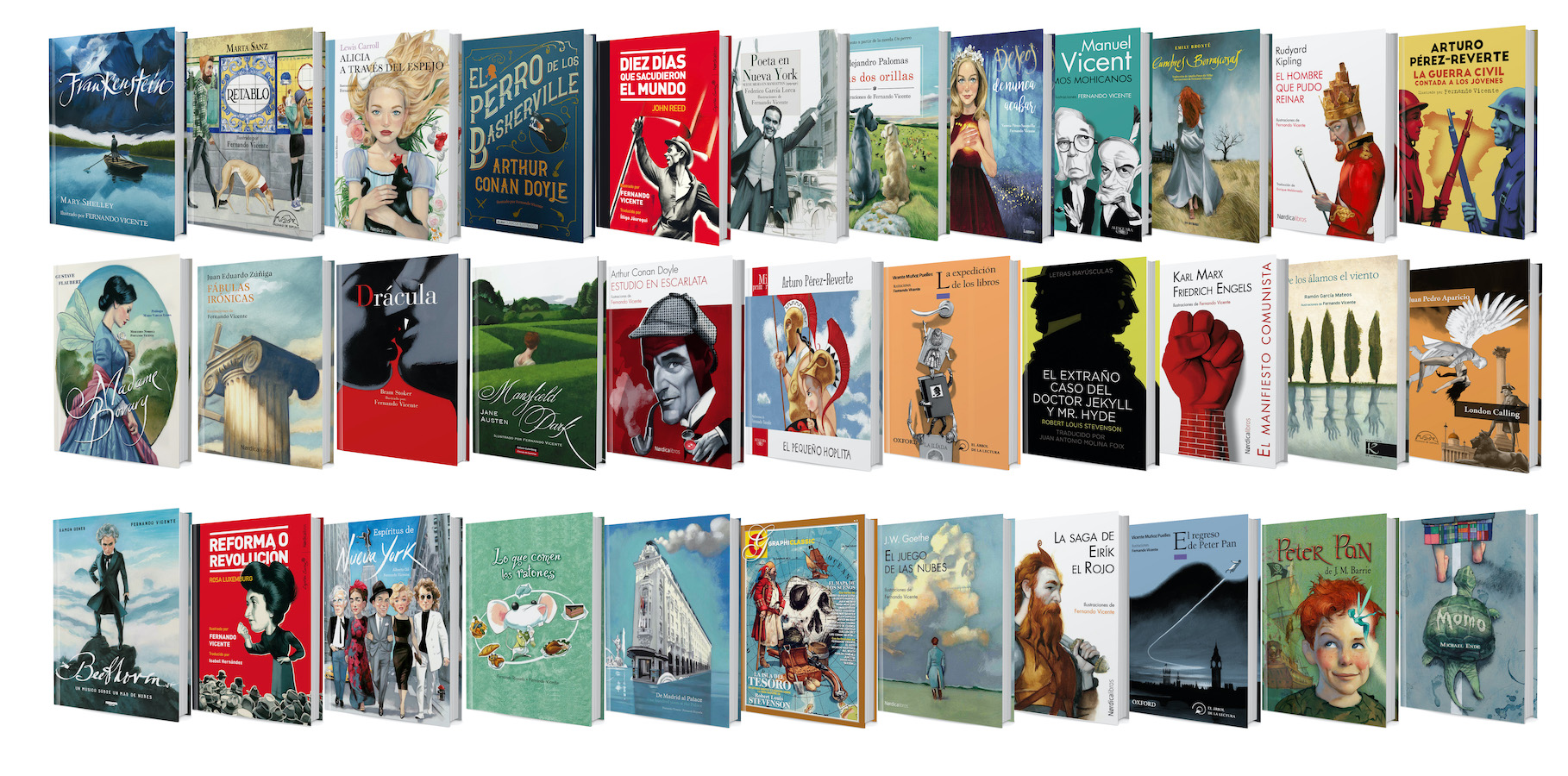 Libros ilustrados Fernando Vicente