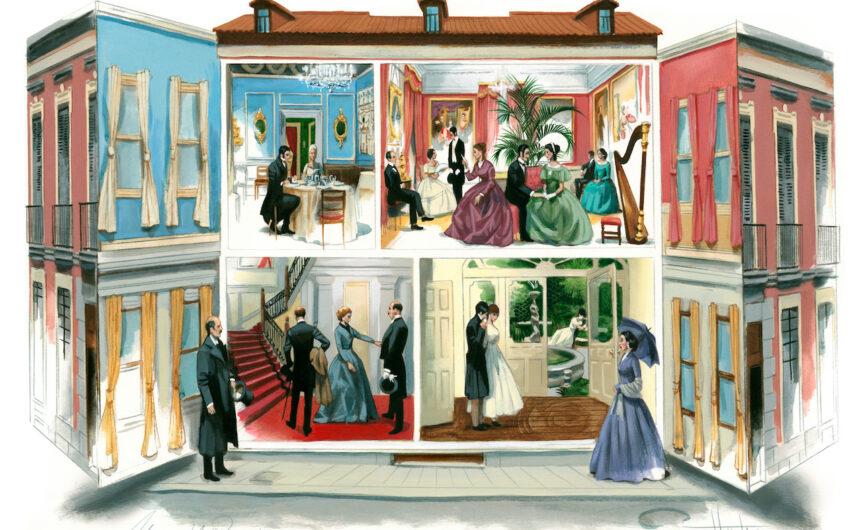 Museo del Romanticismo ilustrado por Fernando Vicente