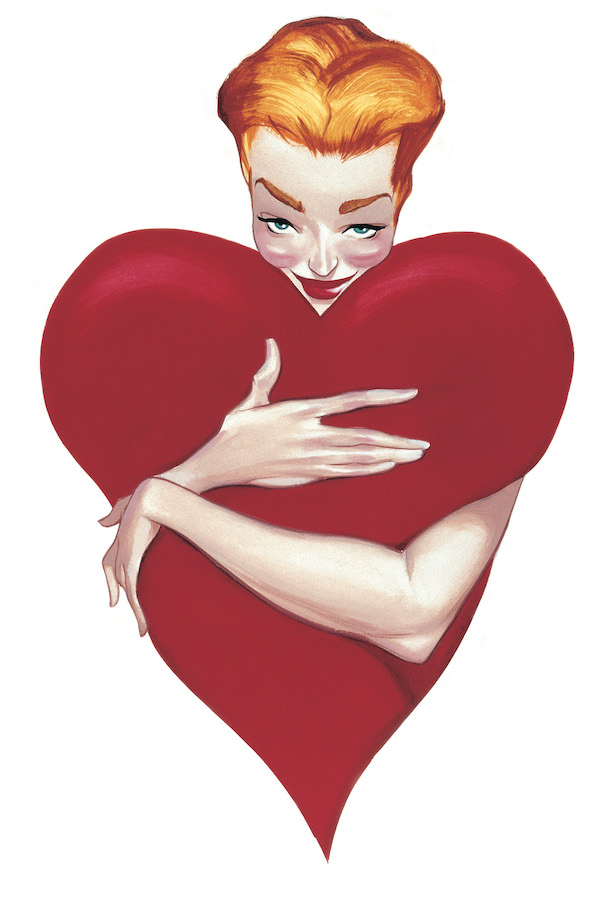 Pinups Impresiones sobre papel Fernando Vicente Pin-Up Heart