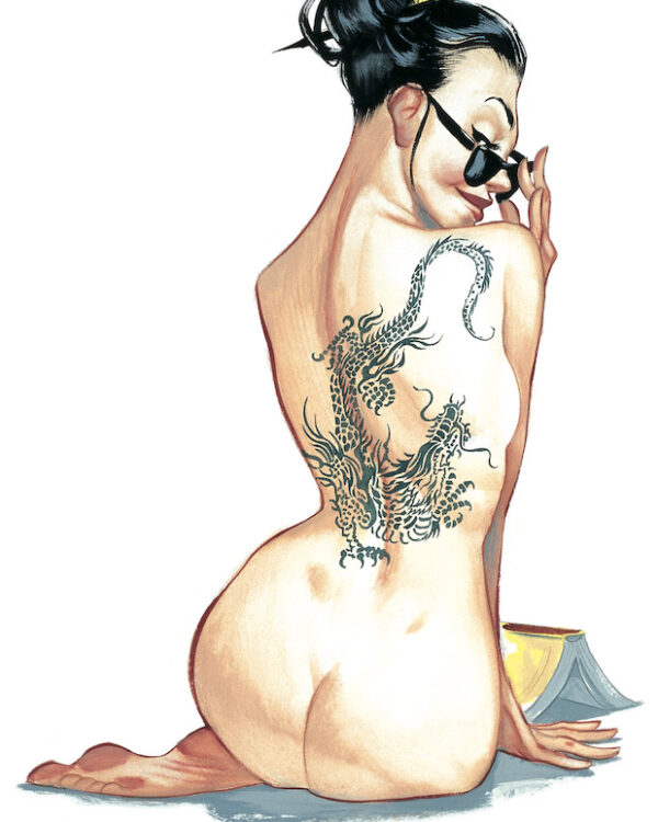 Pinups Impresiones sobre papel Fernando Vicente Pin-Up Tattoo