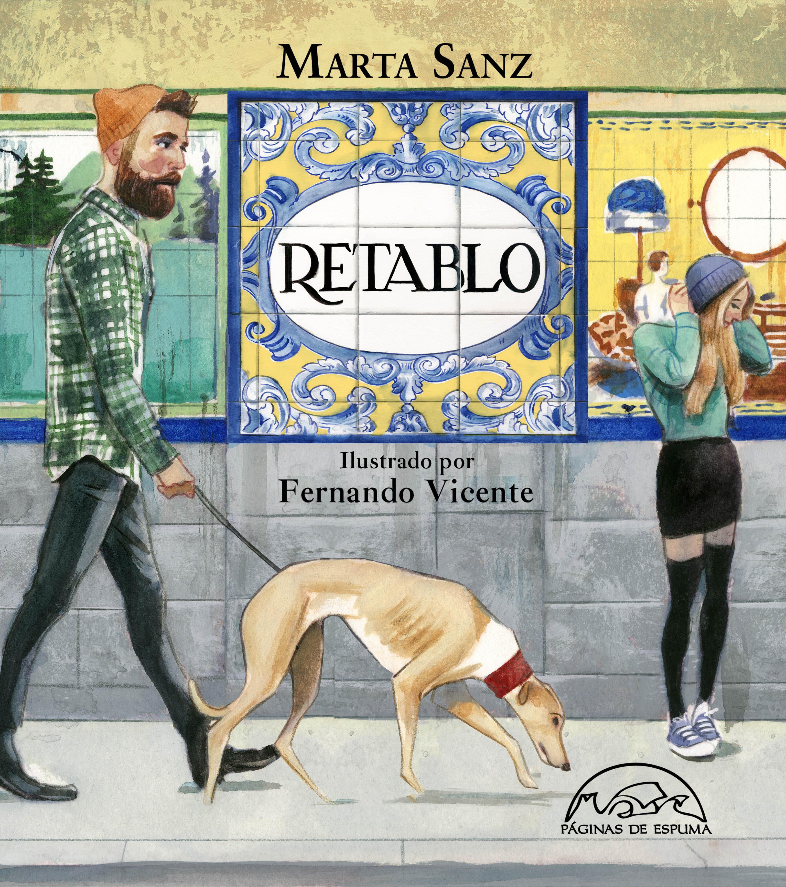 Retablo Marta Sanz y Fernando Vicente Paginas de Espuma