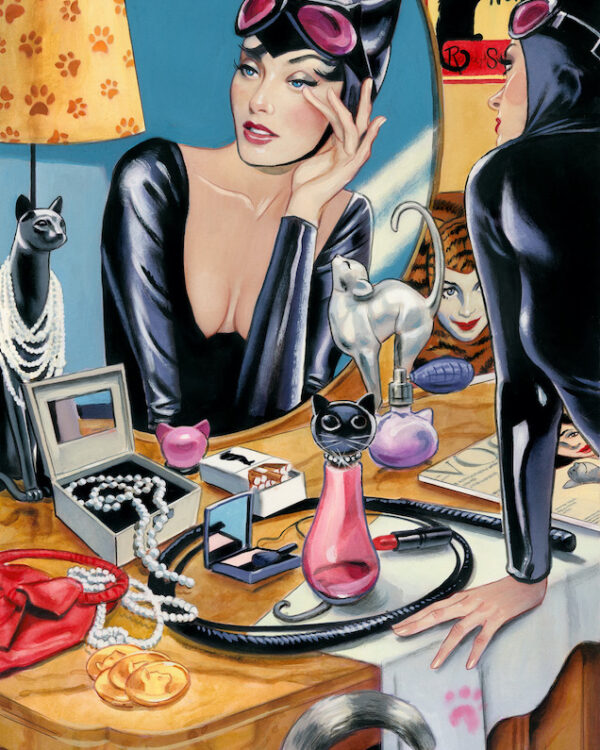 Year of the Catwoman Fernando Vicente