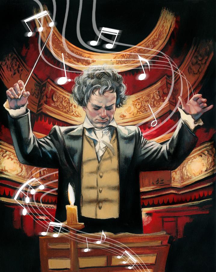 Beethoven. Un músico sobre un mar de nubes