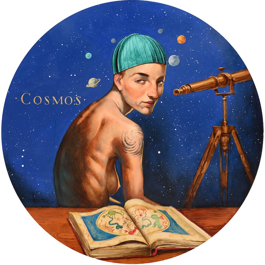 Serie Lectoras Cosmos Fernando Vicente