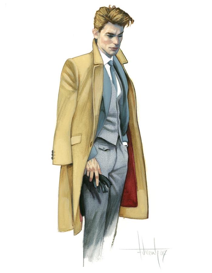 Gentleman Dibujos originales Fernando Vicente