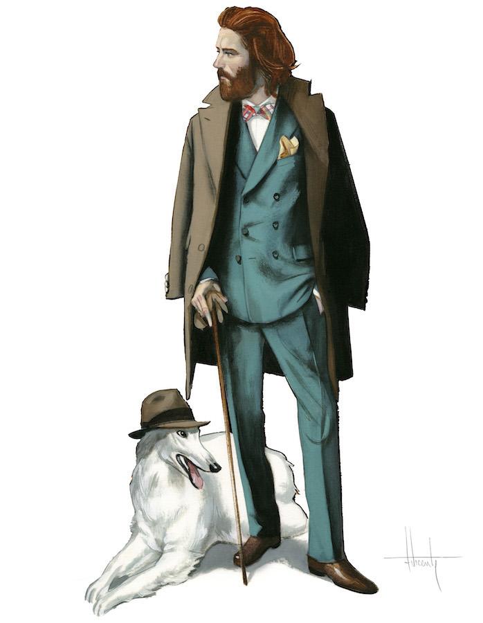 Gentleman Dibujos Originales